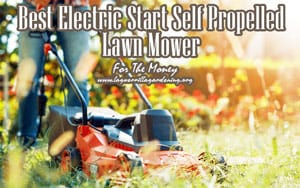 {TOP 5} Best Electric Start Self Propelled Lawn Mower For The Money