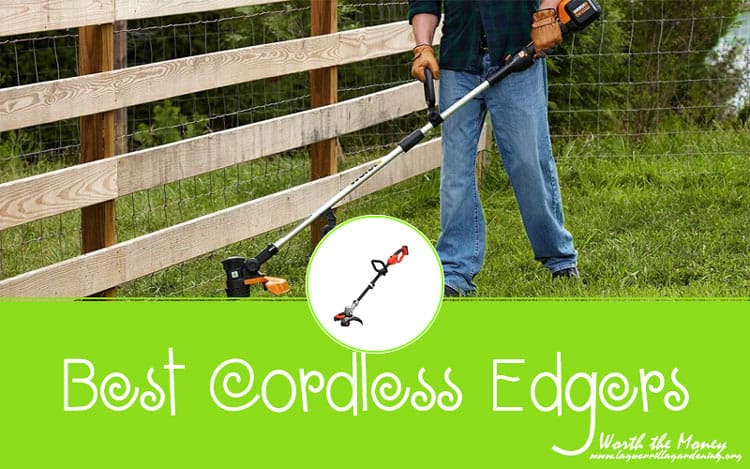 Best Cordless Edgers Reviews 2020