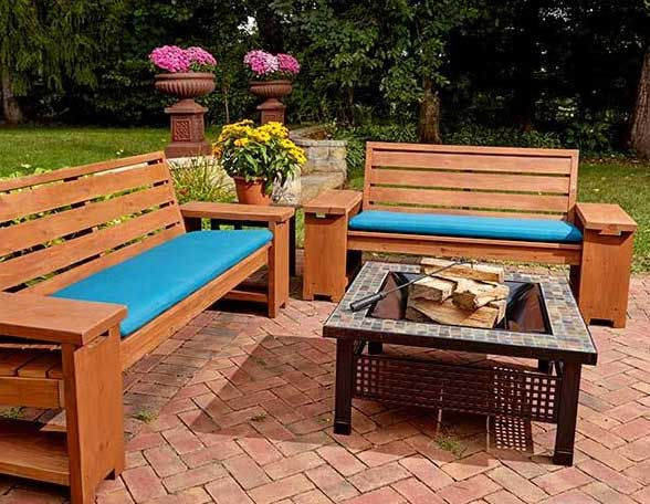 best outdoor patio bench